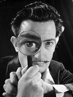 Dali's Mustache by Philippe Halsman