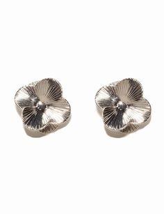 Fanned Flower Earrings
