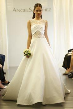 Angel Sanchez Bridal Fall 2015 [Photo by John Aquino]