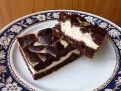 vegan Cheesecake Brownie heaven