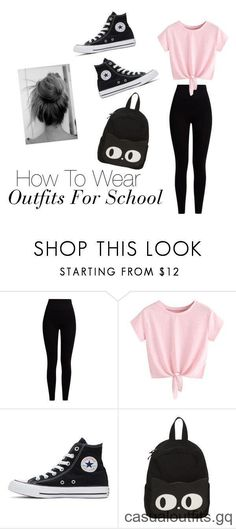 How to wash baby clothes? Polyvore Outfits, Polyvore Dress, First Day Of School Outfit, School Wear, Cute Middle School Outfits, Cute Outfits For School For Teens, Casual Outfits For Teens School, School School, Converse Outfits