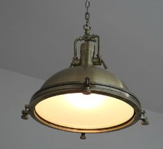 NEW Vintage Industrial Nautical BRONZE Pendant Lamp Light Kitchen Cafe Bar Hotel