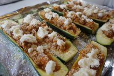 Recipe: Italian Zucchini Boats