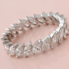 marquise eternity band - right hand ring?