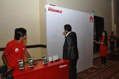 #HuaweiPakistan #MakeItPossible  #Guests giving #Feedback
