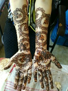 Awsumm work by GreenWorld :* Arabic Bridal Mehndi Designs, Engagement Mehndi Designs, Rose Mehndi Designs, Khafif Mehndi Design, Mehndi Designs 2018, Modern Mehndi Designs, Mehndi Design Pictures, Beautiful Henna Designs, Rangoli Designs