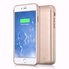 メルカリ商品: 【未開封品】iPhone 6/6s用バッテリーケース 5000mAh(ゴールド) #メルカリ