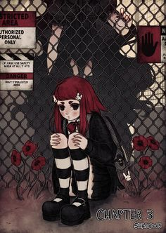 Anime Character Drawing, Character Art, Character Design, Dark Art Drawings, Cute Drawings, Chicas Punk Rock, Vaporwave Art, Grunge Art, Gothic Anime