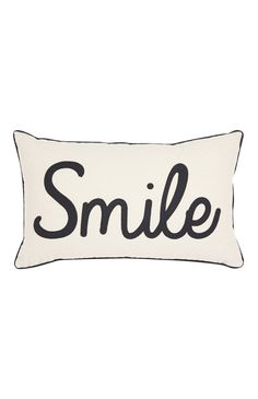 Primark - Smile Applique Cushion