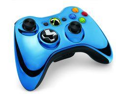 Chrome Blue XBOX Controller