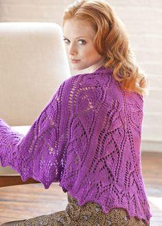 Beloved Shawl | Stitch Nation by Debbie Stoller: 100% Natural, 100% Affordable Yarn