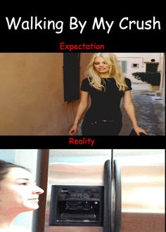 Walking by my crush / iFunny :) CLICK TO WATCH!!