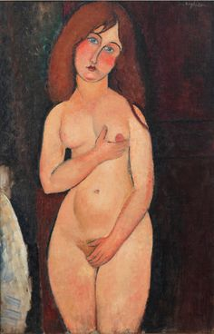 Amedeo Modigliani (1884-1920), 1917, Vénus, Oil on canvas, 99.4 × 64.1 cm, Private Collection. Photo by Rob McKeever.