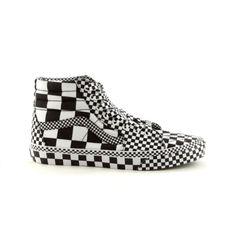 0e8eea3045398c Shop for Vans SK8 Hi Skate Shoe in BlackWhiteChex at Journeys Shoes. Shop  today for