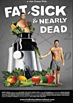 """Read """"Fat, Sick & Nearly Dead How Fruits and Vegetables Changed my Life"""" by Joe Cross available from Rakuten Kobo. Joe Cross found himself, at age weighing a whopping 300 plus pounds, and on a daily diet of the steroid Prednisone t. Healthy Juice Recipes, Juicer Recipes, Healthy Juices, Get Healthy, Smoothie Recipes, Whole Food Recipes, Healthy Weight, Easy Recipes, Amazing Recipes"""
