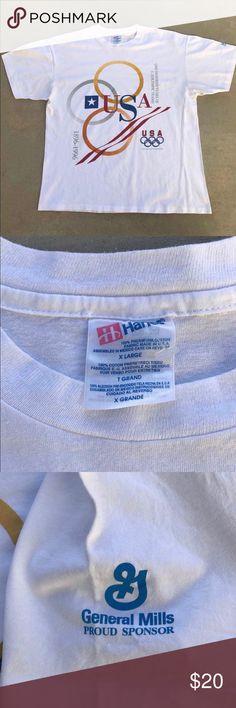 1996 Olymics shirt large General Mills Nice condition Shirts Tees - Short Sleeve