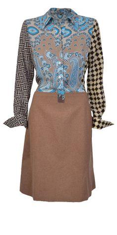 blue-beige-maliparmi-dress