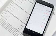 Smartphone app MicroBlink PhotoMath for the recognition (OCR) of simple mathematical formulae Solving Equations, Equation Solving, Math Equations, Image Scanner, Little App, Optical Character Recognition, It Works, Android, Bring It On