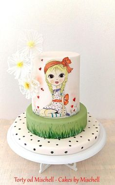 Hand painted little princess by Mischell