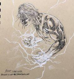 21 отметок «Нравится», 1 комментариев — Rafael  Desquitado (@rafdesquitado) в Instagram: «Adam Warlock. . . #everymarvelcharacterever #paper #pencil #anotsodailysketchseries #sketches…»