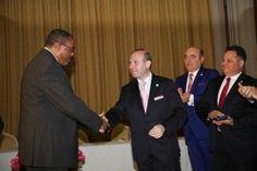 Hailemariam Desalegn-Prime Minister of Ethiopia and Anton Caragea-European President