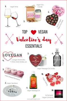 Vegan Valentine's Day Essentials Gift Guide Vegan Gift Guide for Him -- Vegan Gift Guide for Her Valentine Day Love, Valentine Gifts, Best Gift For Husband, Gift Guide For Him, Valentine's Day, Vegan Gifts, Blogging, Healthy Food, Best Gifts