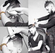Hair cut disconected undercut