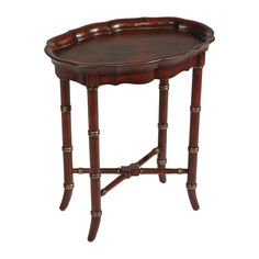 Red Chinoiserie Table - Ethan Allen US