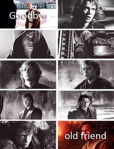 Anakin Skywalker and Obi-Wan Kenobi