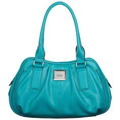 Buy Fiorelli Georgie Shoulder Handbag, Teal online at JohnLewis.com - John Lewis