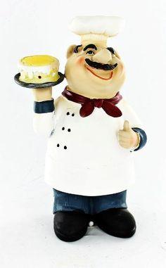 New Fat Chef Kitchen Statue