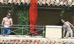 5 September 2012 - William and Kate on holiday at the Chateau D'Autet in the Luberon, Aix-En-Provence, France