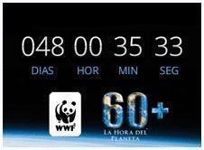 Ayúdanos a difundir la Hora del Planeta