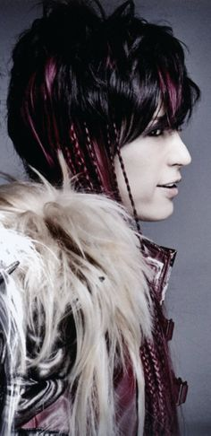 Gackt - singer, actor, he does some amazing costuming