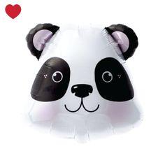 Panda folieballon @j