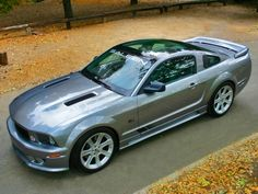 Saleen Mustang. I have just died and gone to hore-power heaven!