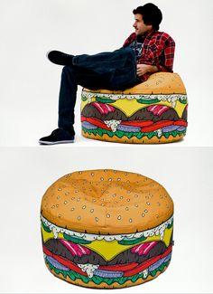 Cheeseburger Chair