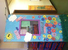 My preschool class- spring door decorations :)