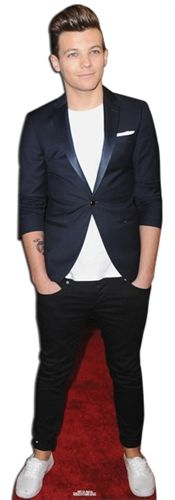 Life sized cut-out of Boyband 1D Louis Lifesize Cutout. You can find this life sized cardboard cut out at www.vinylwarehouse.co.uk #be_inspired #inspire_others #cardboard #cutout #1D #Louis #stockist