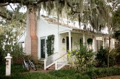A cottage at Inn at Palmetto Bluff in South Carolina