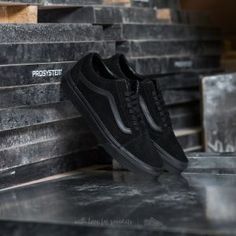Vans Old Skool (Suede) Black/ Black/ Black