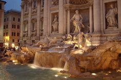 Trev Fountain, Rome, Italy  We spent a week vacation in Rome in the 1970's.