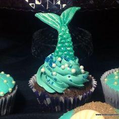 Cupcakes - La Sirenita - Le Decopâtisserie