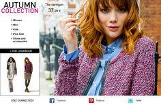 Autumn collection & trends on www.laredoute.com . British heritage !