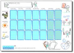 weekplanner kind printen - Google zoeken