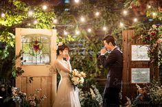 View photos in Korean Studio Pre-Wedding Photography: Night Romance. Pre-Wedding photoshoot by Gaeul Studio, wedding photographer in Seoul, South Korea. Wedding Company, Wedding Sets, Wedding Couples, Wedding Cards, Pre Wedding Photoshoot, Wedding Shoot, Funny Wedding Photos, Korean Wedding, Studios