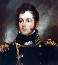 """What was Commodore Oliver Perry's famous quote? Commodore Oliver Perry's famous quote is """"we have met the enemy and they are ours."""" Commodore Oliver Perry said that quote during the Battle of Lake Erie. Top Paintings, John Oliver, Naval History, Military History, War Of 1812, Today In History, American Revolutionary War, Lake Erie, Gentleman Style"""