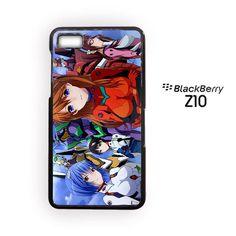 Evangelion for blackberry Z10/Q10 3D phonecases