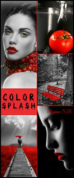 '' Color Splash - Cherry Tomato '' by Reyhan S.D.