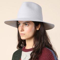 87989204368 Clyde Wide Brim Grey Pinch Hat  sol  Shop Super Street - 2 Felt Hat